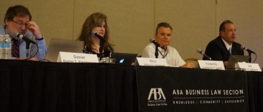 Ellisa Habbart speaks at ABA Business Law Section Meeting in San Francisco